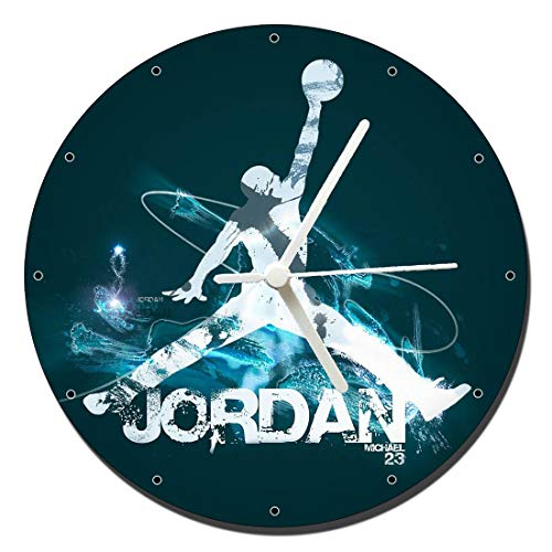 MasTazas Michael Jordan Air Wanduhren Wall Clock 20cm
