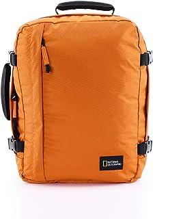 NATIONAL GEOGRAPHIC Nat Geo Hybrid Rugzak met 3 Funkties S, 40 cm, arancione