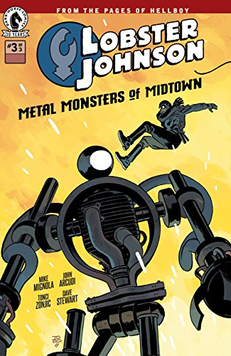 Lobster Johnson: Metal Monsters of Midtown #3 (English Edition)