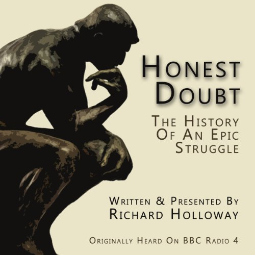 Honest Doubt audiobook cover art