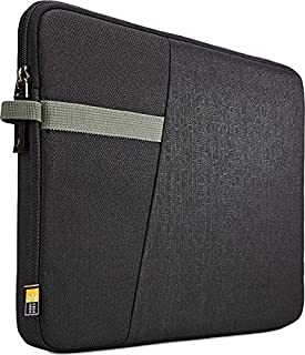 Case Logic IBRS115BLK Ibira Laptop Sleeve, Black, 15.6 Inch