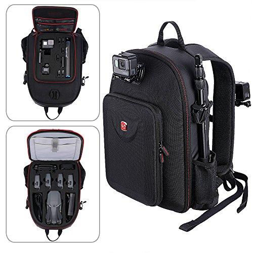 Smatree Mavic Pro Backpack Compatible for DJI Mavic Platinum/DJI Mavic Pro Fly More Combo/GoPro Hero 2018/Hero 9/8/7/6/5/4/3+/3(Not fit for Mavic 2 pro/Mavic 2 Zoom)