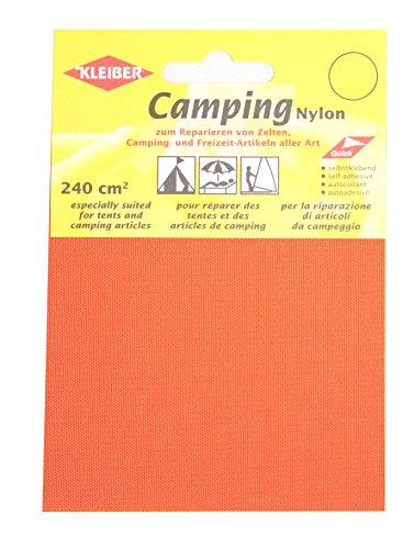 Kleiber doek-achtige, zelfklevende, waterdichte reparatiestukken van nylon, oranje