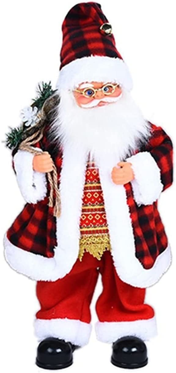 ZXYA Kids Electric Santa Claus Dancing Alternative dealer Fit Brand new Toy for Relieve