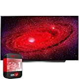 LG OLED55CXPUA 55 inch CX 4K Smart OLED TV with AI ThinQ 2020 Bundle with 1 Year Extended Protection Plan