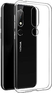 2fad0e4a732 Electrónica Rey - Funda Carcasa Gel Transparente para Nokia 6.1 Plus 2018 - Nokia  X6,