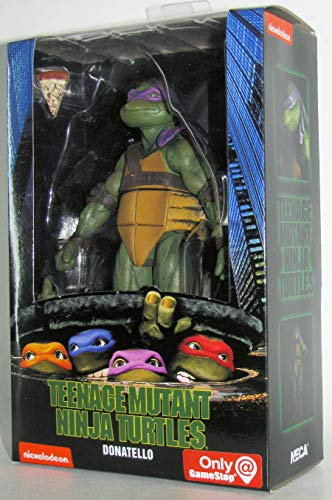 Teenage Mutant Ninja Turtles 90's Movie Donatello 6.5-inch Action Figure by NECA Reel Toys 2019 GameStop Exclusive