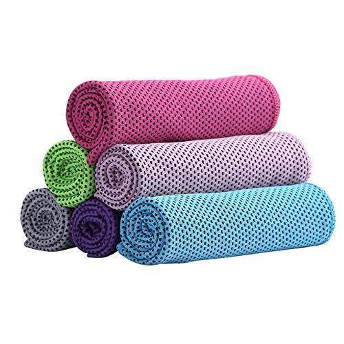 Kühl Handtuch 7-Pack, Gym Handtuch, Ice Cool Sweat Handtuch, Kühl Schal Als Kühl, Chilly Ice Handtuch Rag Tuch Für Sport, Workout