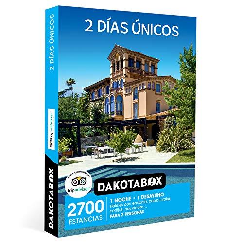 DAKOTABOX - Caja Regalo hombre mujer pareja idea de regalo - 2 días únicos - 2700 estancias en hoteles rurales, haciendas, masías, cortijos y mucho más