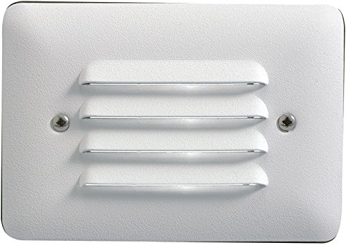 Kichler 15782WHT30R Landscape Step, 1 Light LED 2.5 Watts, White