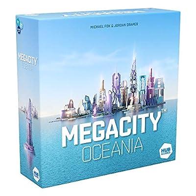 HUB Megacity Oceania Board Game, Multicolor