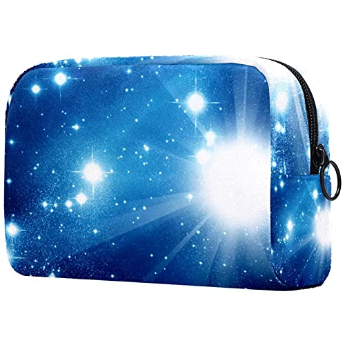 Trousse de Maquillage Trousse de Maquillage à Fermeture éclair, Galaxie Cosmos