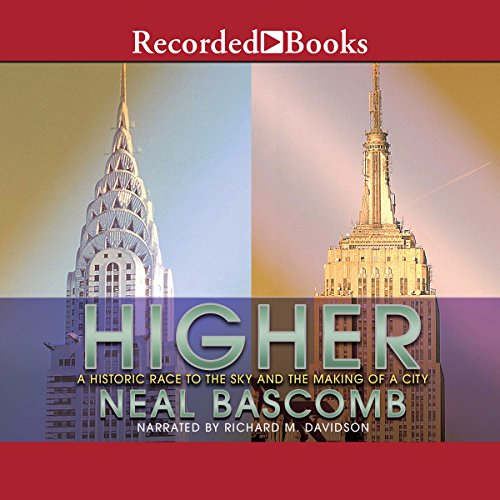 Higher audiobook cover art