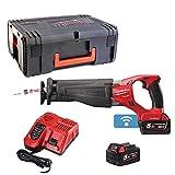 Milwaukee 4933451666 – m18onesx-502 X Sega sciabola 18 V Fuel Senza spazzole One Key 5,0 Ah Litio