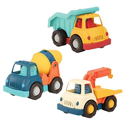 Wonder Wheels by Battat – Dump Truck, Tow Truck, Cement...