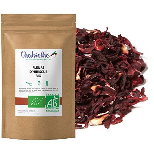 BIO Hibiskusblüten geschnitten Tee 200g - Hibiskustee, Bissap, Karkade