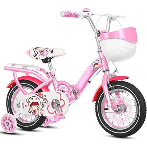 LIUCHANG Lquide Kinderfahrrad Mädchen-Kind-Fahrrad Junge Folding Fahrrad 3-6-7 Jahre alt Fahrrad YCLIN liuchang20 (Color : 12in|1)