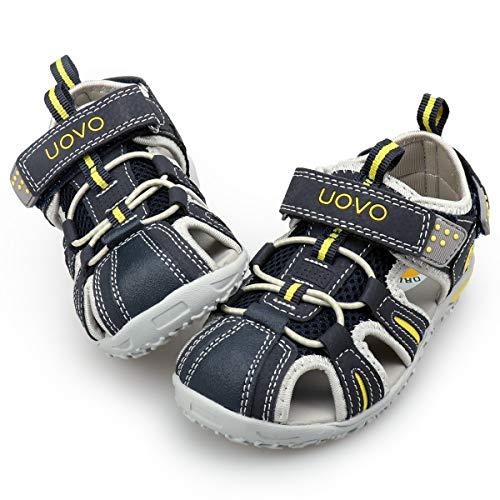 Jungen Sandalen Trekking Wandern Kinder Sandalen Outdoor Geschlossene Zehe Sandalen Sportliche Sommerschuhe Blau 26