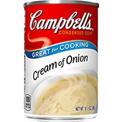 Made with honest, farm-grown onions and real butter Packaged in a non-BPA-lined, 10.5 oz. recyclable can Use as an ingredient for recipes that need a rich boost For over 1,000 recipe ideas, visit CampbellsKitchen.com M'm! M'm! Good!