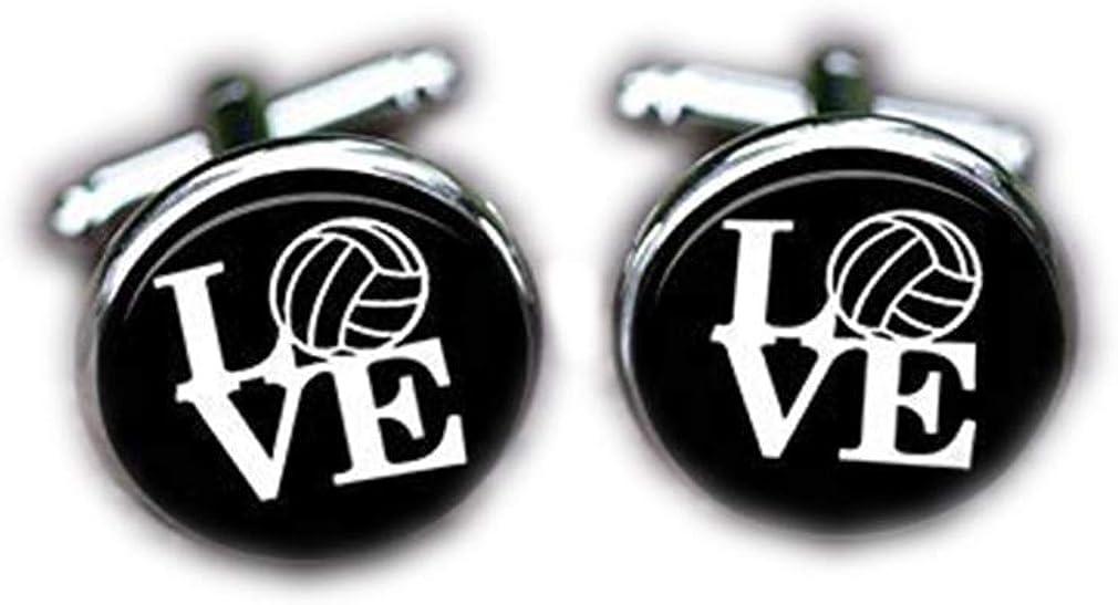 Bloody devil Wedding Cufflinks,Volleyball Love Cufflinks C Fixed price for sale Mail order cheap