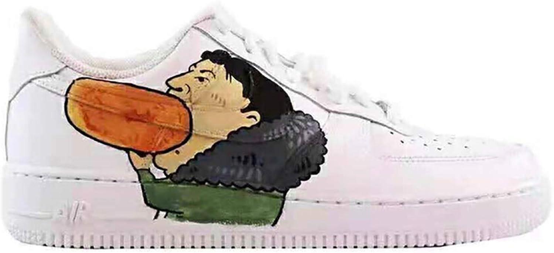 Cartoon Spa Styling Schuhe Atmungsaktiv Rutschfeste Gummisohle Casual Sport Herrenschuhe