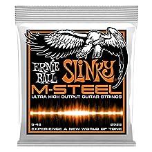 Para guitarra eléctrica Calibres: 009 - 011 - 016 - 026 - 036 - 046 Núcleo de acero martensítico con entorchado de cobalto Envasadas en bolsa hermética