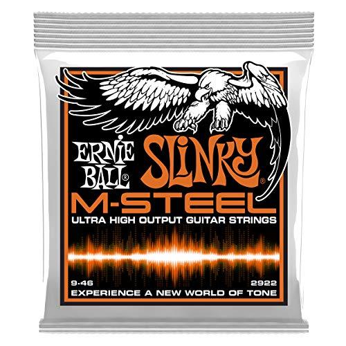 Cuerdas para guitarra eléctrica Ernie Ball Hybrid Slinky M-Steel - calibre 9-46