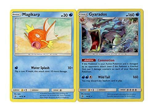 Evolution Card Set - Gyarados 20/70 - Sun Moon Dragon Majesty - Rare Card Lot