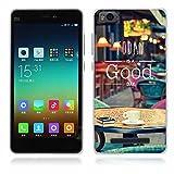 FUBAODA Xiaomi mi4c/mi4i Funda Serie de la Pintura,[Gratis] Fina,Resistente a los arañazos en su Parte Trasera,Amortigua los Golpes,Funda Protectora Anti-Golpes para Xiaomi mi4c/mi4i