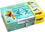 HABA 304840 - Find the code! Fantasieland, Rätselspiel mit Schatzkarten-Puzzle und Schatzkiste zum Wiederbefüllen, Spiel ab 5 Jahren