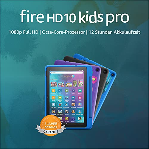 Amazon Fire HD 10 Kids Pro – Kinder-Tablet (2021) ab Grundschule – 10,1 Zoll, 32 GB - 9