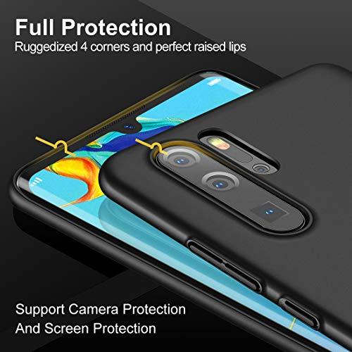 Humixx Hülle für Huawei P30 Pro, Hochwertigem Ultra Dünn Leichte Handyhülle Stoßfest, Anti-Fingerprint, Anti-Scratch Feine Matte Cover Schutzhülle Schale Hardcase für Huawei P30 Pro - 4