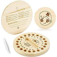 Bileker Wooden Teeth Keepsake Tooth Box for Kids