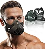 Vikingstrength New 24 Levels Training Workout Mask for Running Biking MMA Endurance with Adjustable Resistance, High Altitude Elevation Mask for Air Resistance Training (Improved Design)
