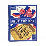 Shut The Box - Traditional Wooden 2 Player Board Game for Adults and Family. Wooden Shut The Box by Professor Puzzle.