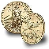 1986 - Present 1/4oz American Gold Eagle (Random Year) $10 Brilliant Uncirculated