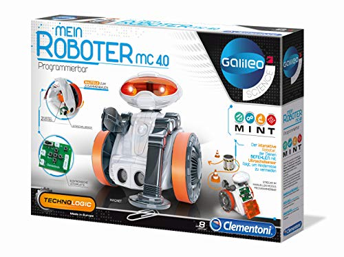 Clementoni – 59054 – Galileo – Mein Roboter MC 4.0 - 5