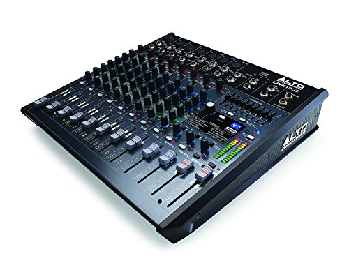Alto Live 1202 12channels 20-20000Hz Schwarz - Audio-Mixer (12 Kanäle, 24 Bit, 20-20000 Hz, 90 dB, 51100 Ohm, 0,02%)