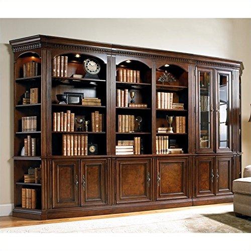Hooker Furniture European Renaissance II Wall Bookcase Unit
