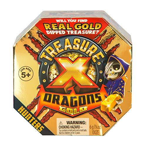 Treasure X 41507 Dragons Gold-Hunters -Juego de Mesa [Texto en inglés] Paquete Individual, los Estilos Pueden Variar