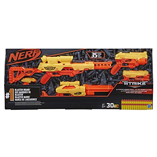 Hasbro Pack Lanzador Ultimate Mission Alpha Strike Nerf