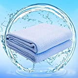 Qnnwuus Cooling Blanket for Hot Sleepers, Summer Blanket 59 x 79 Inch Ultra-Cool Lightweight Thin Bamboo Blanket Cool Blanket Absorbs Heat for Night Sweat