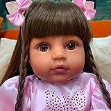 """ZTBXQ Belleza Cuidado Personal Pinky Muñeca Realista 55 cm 22""""Muñecas renacidas Muñeca de Silicona d..."""