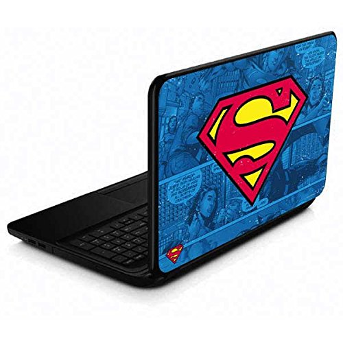 Skinit Decal Laptop Skin Compatible with 15.6 in 15-d038dx - Officially Licensed Warner Bros Superman Logo Design