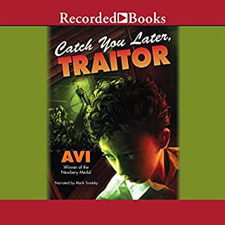 Catch You Later, Traitor audiobook cover art