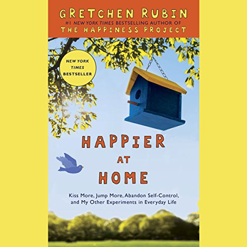 Happier at Home audiobook cover art