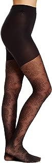 Star Power Women Center Medallion Patterned Shaping Tights - Trendy Leggings for Girls