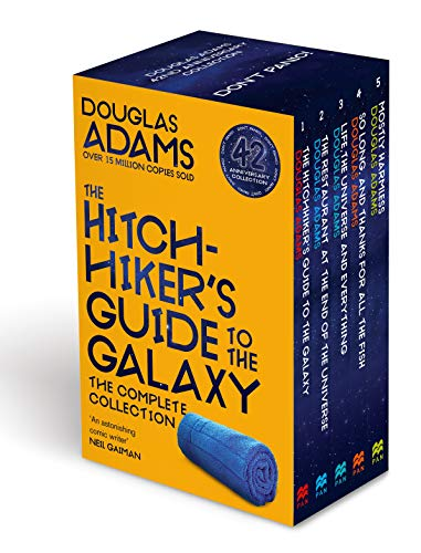 The Complete Hitchhiker's Guide to the Galaxy Boxset: Guide to the Galaxy / The Restaurant at the End of the Universe / Life, the Universe and ... and Thanks for all the Fish / Mostly Harmless