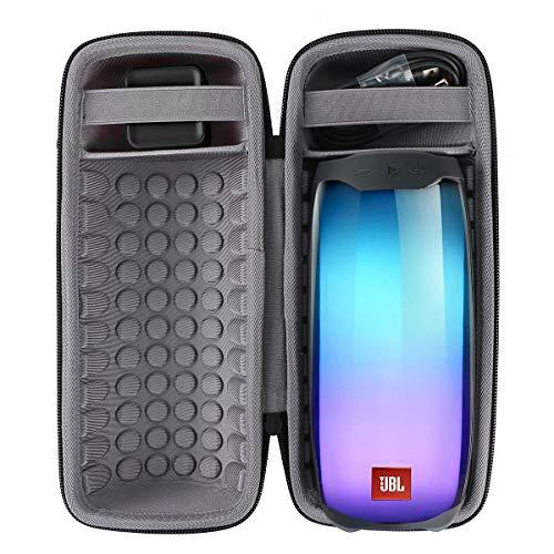 co2CREA Duro Viaggio Caso Custodia Copertina per JBL Pulse 4 Wireless Speaker Bluetooth Portatile (Nero custodia per JBL Pulse 4)