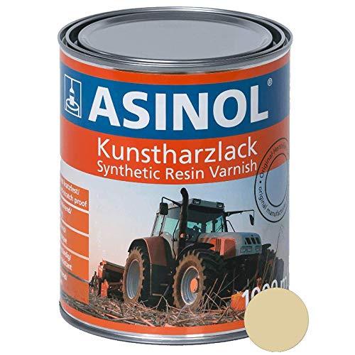 ASINOL RAL 1014 elfenbein hochglänzend 1 Liter, 1.000ml Kunstharzlack